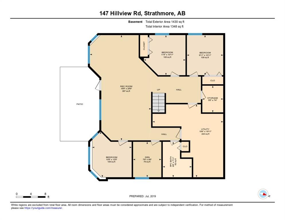 147 HILLVIEW RD , Strathmore, ALBERTA,T1P 1W2 ;  Listing Number: MLS C4258805